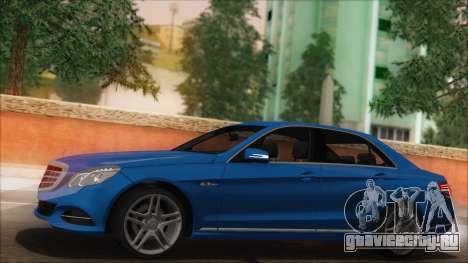 Mercedes-Benz E63 AMG 2014 для GTA San Andreas салон