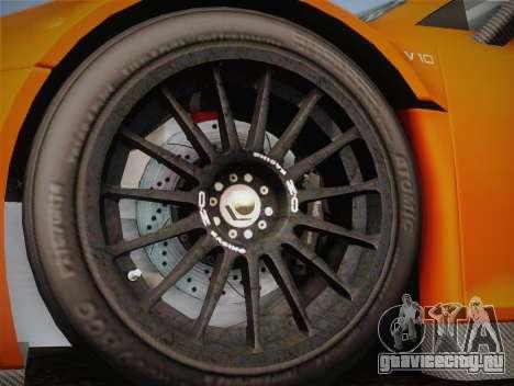 Audi R8 LMS v2.0.4 DR для GTA San Andreas вид сбоку