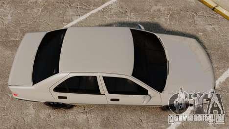 Peugeot 406 для GTA 4 вид справа