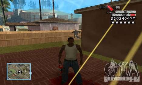 C-HUD by NickQuest для GTA San Andreas третий скриншот