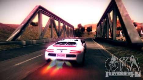 Adder из GTA V для GTA San Andreas вид слева