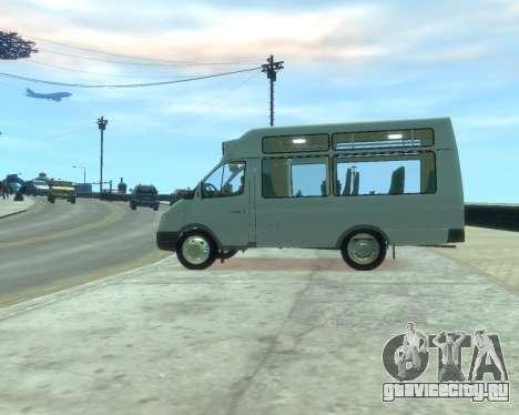 ГАЗель СПВ Рута-16 для GTA 4 вид слева