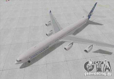 Airbus A340-600 для GTA San Andreas вид слева