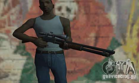 Shotgun Model 12 для GTA San Andreas третий скриншот