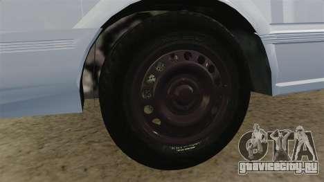 Nissan Tsuru для GTA 4 вид сзади