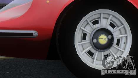 Ferrari Dino 246 GTS для GTA 4 вид справа