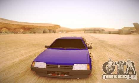 ВАЗ 2108 для GTA San Andreas вид сбоку