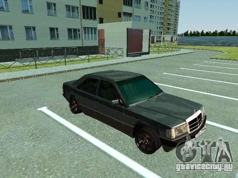 Mercedes-Benz E500 для GTA San Andreas вид слева