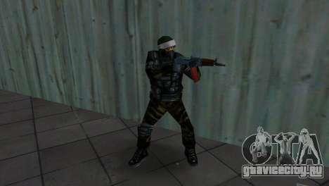 Боец Альфа Антитеррор для GTA Vice City четвёртый скриншот