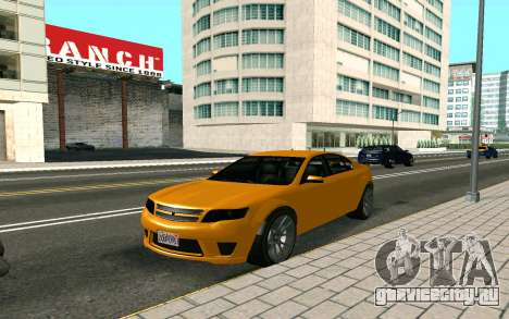 GTA V Fugitive Version 2 FIXED для GTA San Andreas