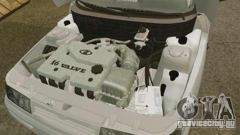 ВАЗ-2112 для GTA 4 вид изнутри