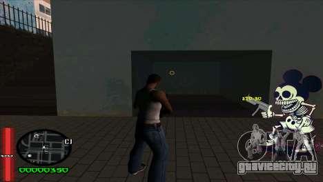 C-Hud Mickey для GTA San Andreas второй скриншот