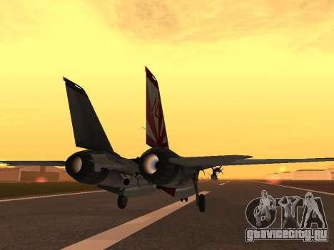 F-14 Tomcat HQ для GTA San Andreas вид справа