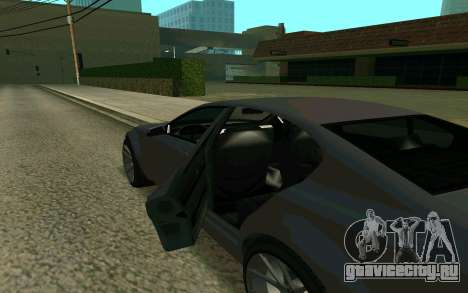 GTA V Fugitive для GTA San Andreas вид справа