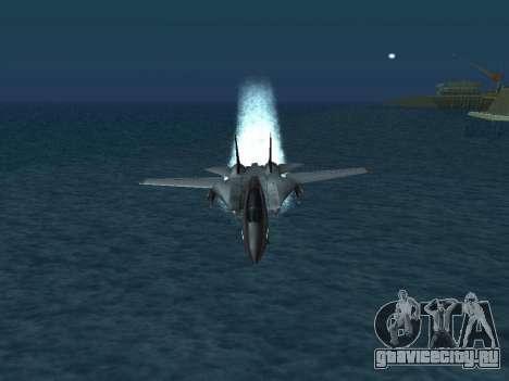 F-14 Tomcat HQ для GTA San Andreas колёса