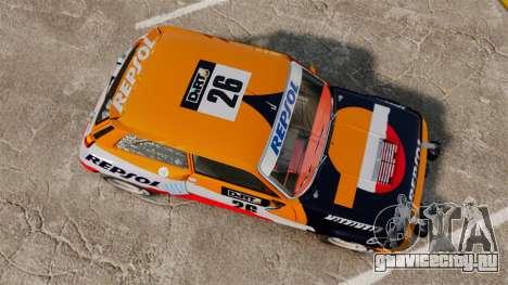 Renault 5 Maxi Turbo для GTA 4 вид справа