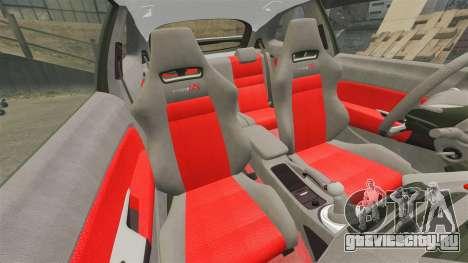 Honda Civic Type R 2007 для GTA 4 вид сбоку
