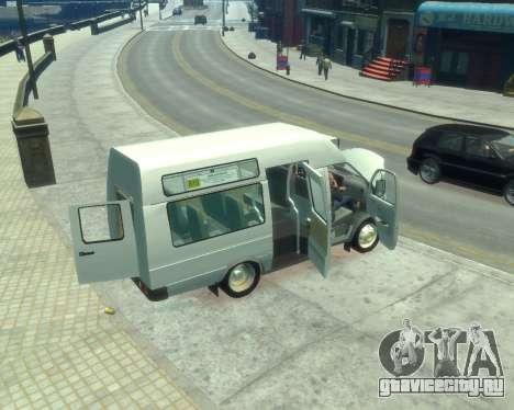 ГАЗель СПВ Рута-16 для GTA 4 вид сбоку