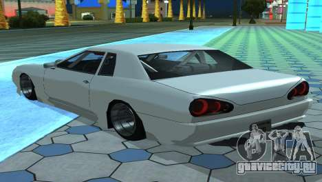 Elegy 280sx v2.0 для GTA San Andreas вид снизу