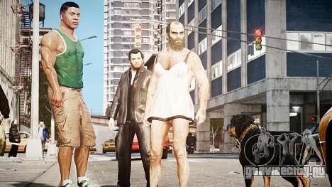 GTA V Майкл де Санта для GTA 4 третий скриншот
