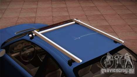BMW M3 E46 Hellaflush для GTA San Andreas вид сзади