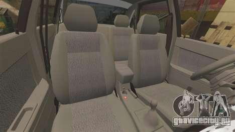 ВАЗ-2170 Полиция для GTA 4 вид сверху