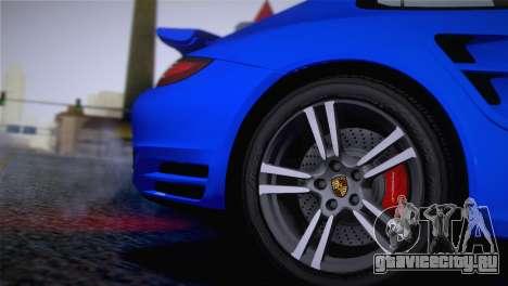 Porsche 911 Turbo Bi-Color для GTA San Andreas вид справа