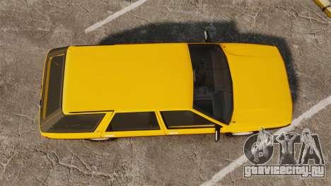 Renault 21 Nevada GTD для GTA 4 вид справа