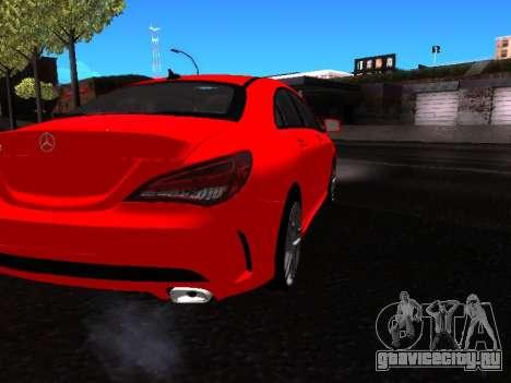 Mercedes-Benz CLA 250 для GTA San Andreas вид сзади