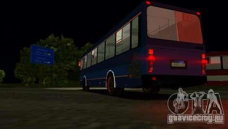 ЛиАЗ-5256 для GTA Vice City вид сверху