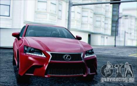 Lexus GS250 F Sport 2013 для GTA San Andreas