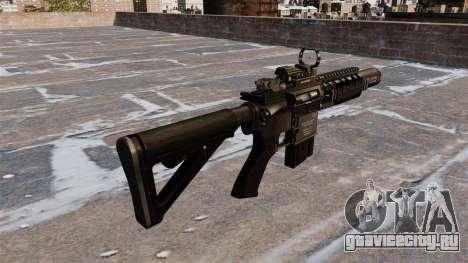 Автоматический карабин M4A1 Navy SEAL для GTA 4 второй скриншот