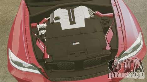 BMW X5M v2.0 для GTA 4 вид сбоку