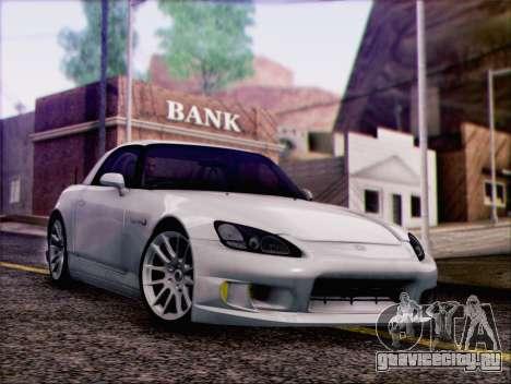 Honda S2000 Daily для GTA San Andreas вид изнутри