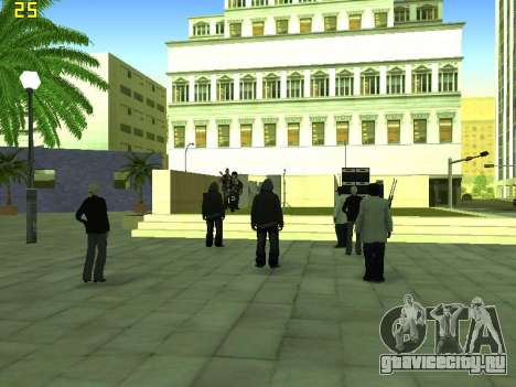 Концерт группы Кино для GTA San Andreas седьмой скриншот