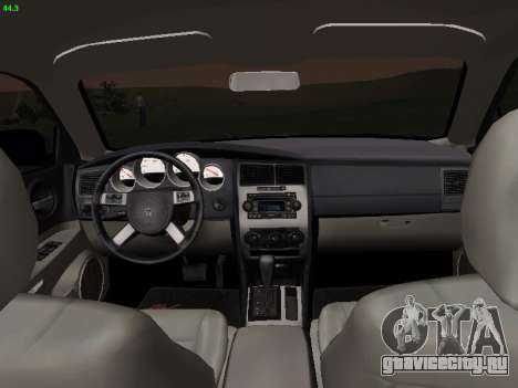 Dodge Charger RT 2008 для GTA San Andreas вид сзади слева
