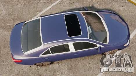 Toyota Camry для GTA 4 вид справа