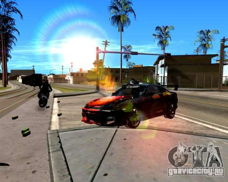 ENB для слабых PC для GTA San Andreas второй скриншот