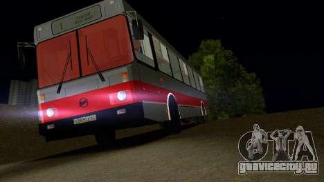 ЛиАЗ-5256 для GTA Vice City салон
