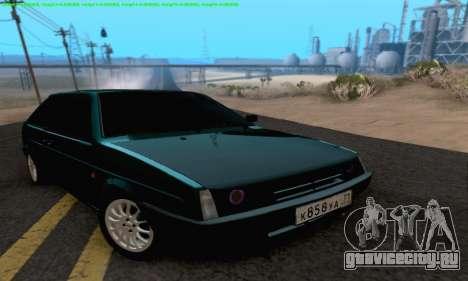 ВАЗ 2108 Тула для GTA San Andreas вид сзади