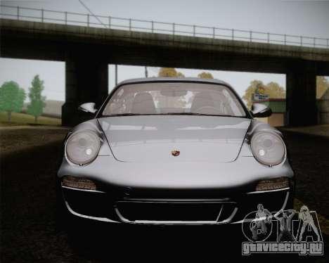 Porsche 911 Carrera для GTA San Andreas вид сверху