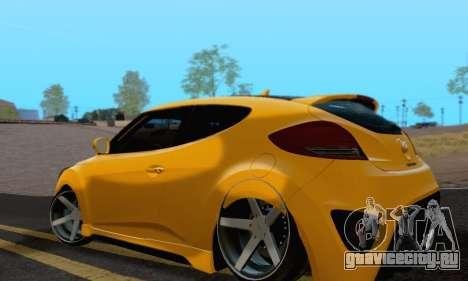 Hyundai Veloster для GTA San Andreas вид слева