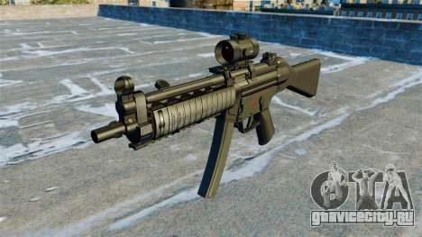 Пистолет-пулемёт MP5 RIS Nom900a для GTA 4