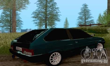 ВАЗ 2108 Тула для GTA San Andreas вид слева