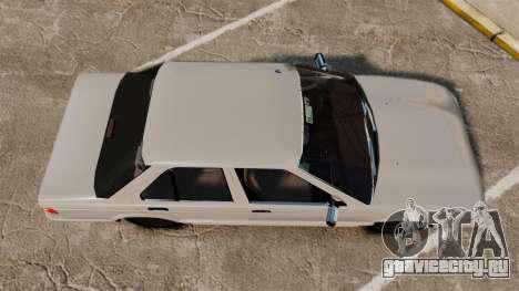 Nissan Tsuru для GTA 4 вид справа