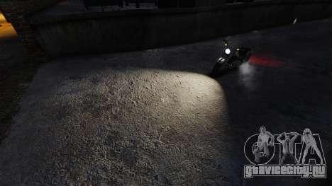 Экстремально белый свет фар для GTA 4 второй скриншот