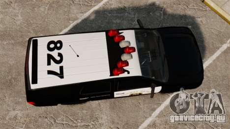 Chevrolet Tahoe 2007 LCHP [ELS] для GTA 4 вид справа
