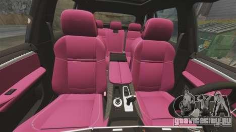 BMW X5M v2.0 для GTA 4 салон