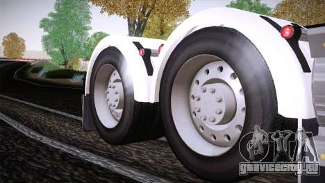 Freightliner Argosy 8x4 для GTA San Andreas вид изнутри