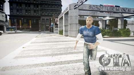 Vin Diesel Wheelman для GTA 4 второй скриншот